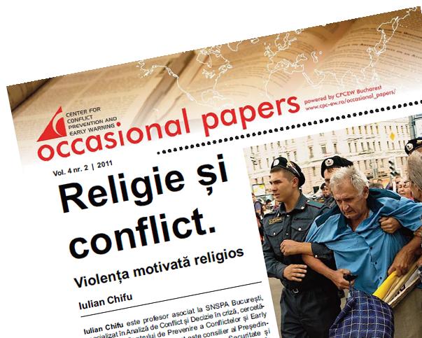nr.2 / vol. 4 – Religie şi conflict. Violenţa motivată religios