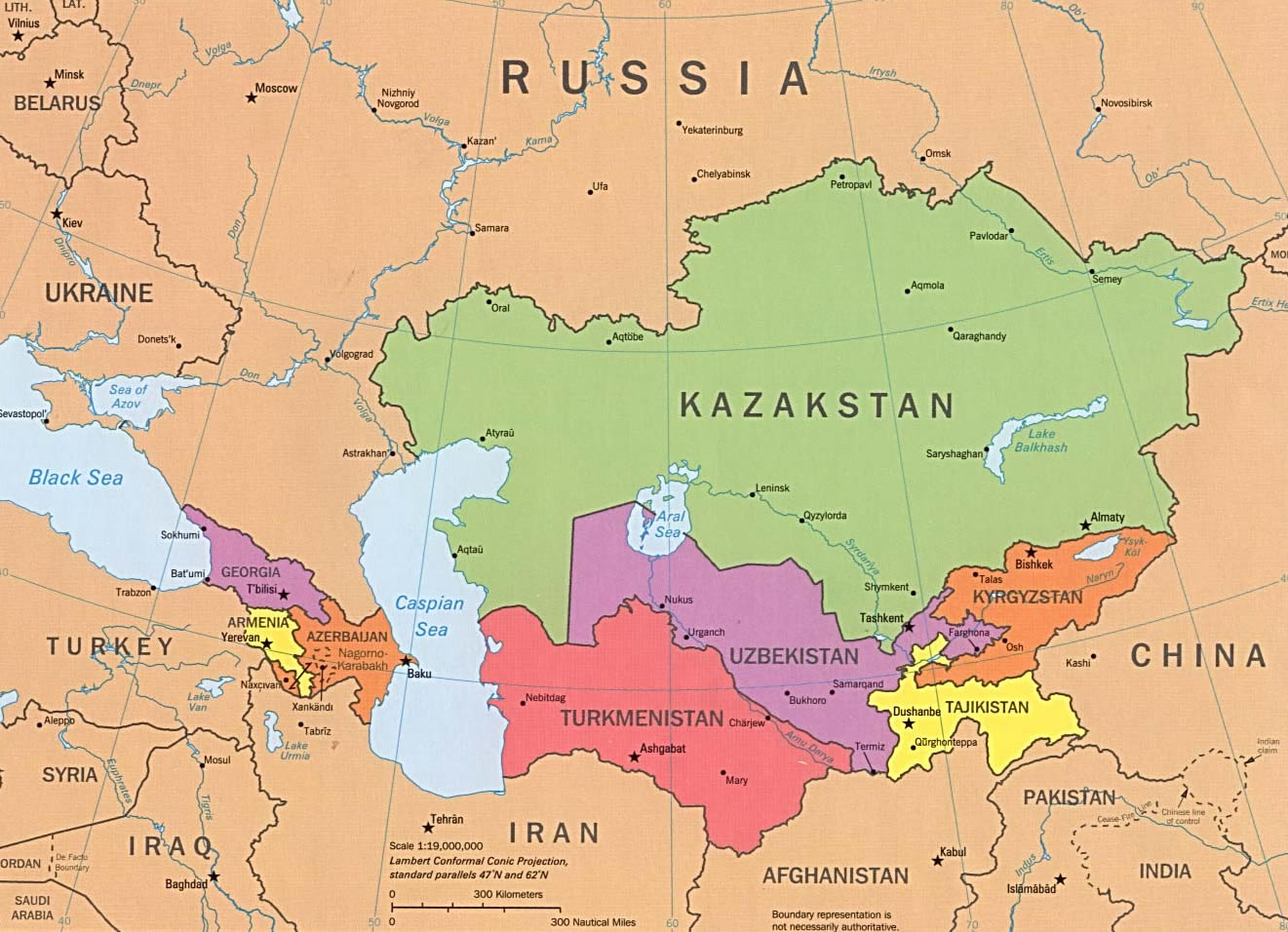 Vol. 6 nr. 10 | 2013 – The East-West Strategic Corridor from Central Asia to Europe and Ukraine's Interests