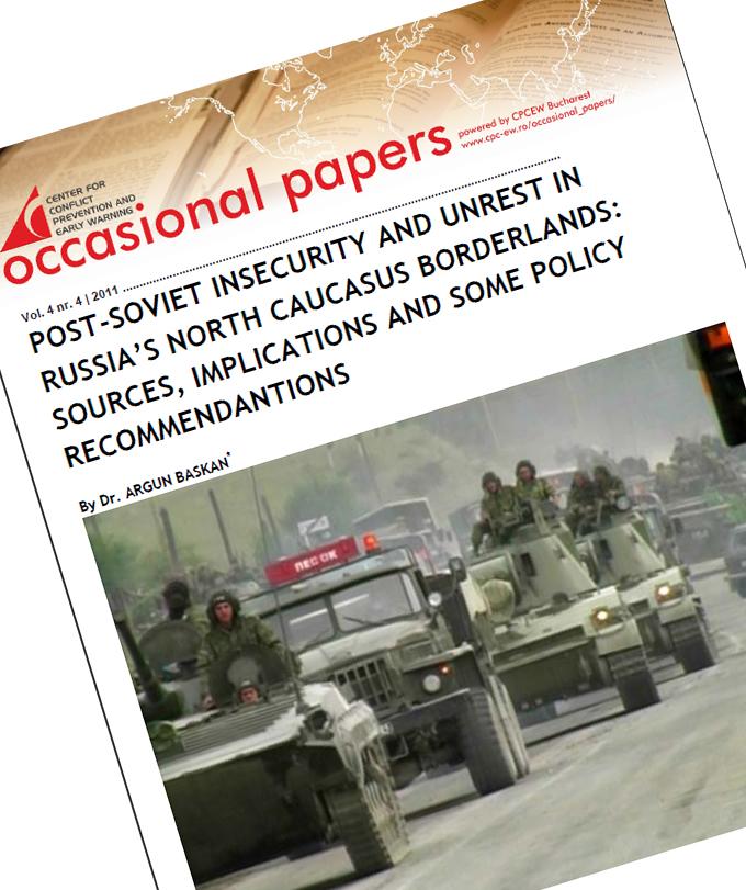 nr.4 / vol. 4 – Post-Soviet Insecurity And Unrest In Russia's North Caucasus Borderlands…