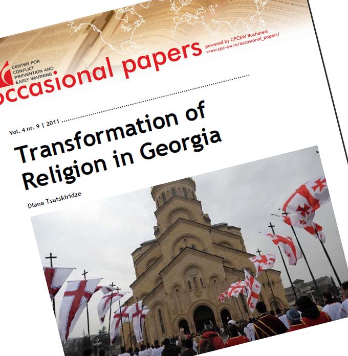 nr.9 / vol. 4 – Transformation of  Religion in Georgia