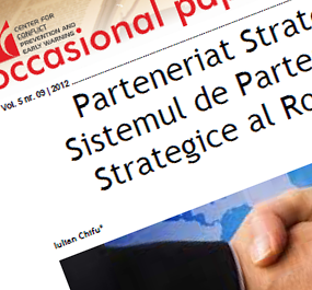 Vol. 5 nr. 09 | 2012 – Parteneriat Strategic. Sistemul de Parteneriate Strategice al României